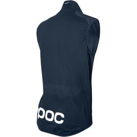 POC M's Fondo Wind Vest Navy Black